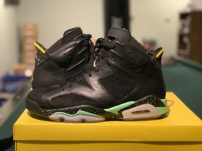 078cec15adad5c NIKE AIR JORDAN 6 BRAZIL PACK + CP3 Sz US11.5 UK10.5 688447-920 ...
