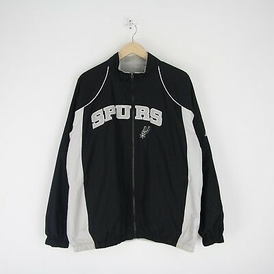 ADIDAS JACKE GR.56 (3XL) San Antonio Spurs NBA Winterjacke Fleece Futter, 62376