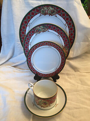 NORITAKE Royal Hunt 5-Piece Place Setting Tartan Plaid