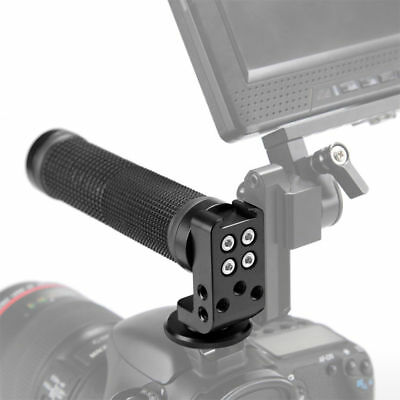 New SmallRig Rubber TOP HANDLE GRIP w/ Cold Shoe Mount for DSLR/Cage Hot Shoe