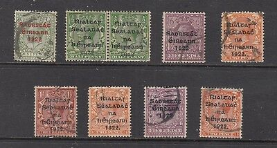 EIRE/IRELAND GV STAMPS USED.Rfno.A80.