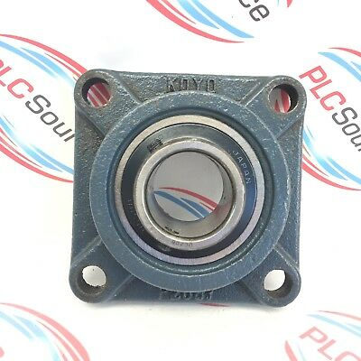 Koyo  F208J  4-Bolt Square Flange Mounted Bearing