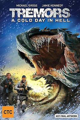 Tremors - A Cold Day In Hell - DVD Region 4 Free Shipping!