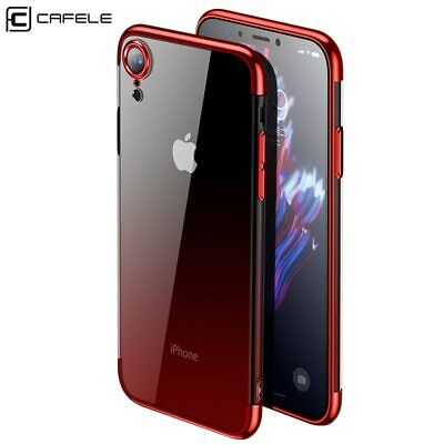 Original Silicone Case for Apple iPhone XS Max / XR /XS Transparent Cover iPhone