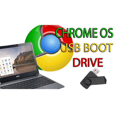 CHROME OS USB Boot Drive 32/64 Bit Install Repair Live Boot Recover