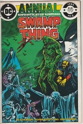 Swamp Thing Annual #2  (9.0, VF/NM) (1984)1st app. of the Justice League Dark
