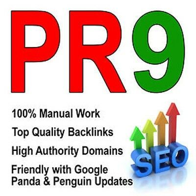 50 PR9 Safe High Authority SEO Backlinks for Ranking Up Your Site, Manually