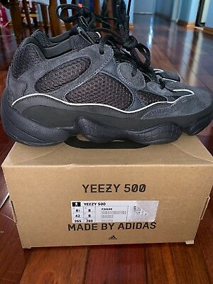 f40cd874a SIZE 8.5 - Adidas Yeezy 500 Utility Black Preowned Very Near Mint ...
