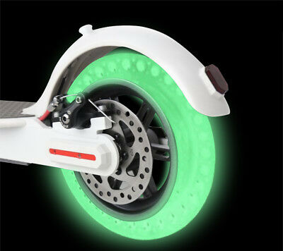 1PC Luminous Glow Fluorescent Hollow Tyre Tires for Xiaomi M365 Electric Scooter