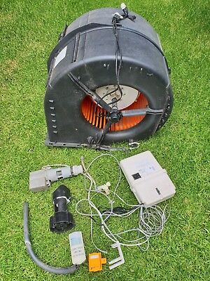 Breezair 1500w fan, pump, dump valve, control box and wireless controller
