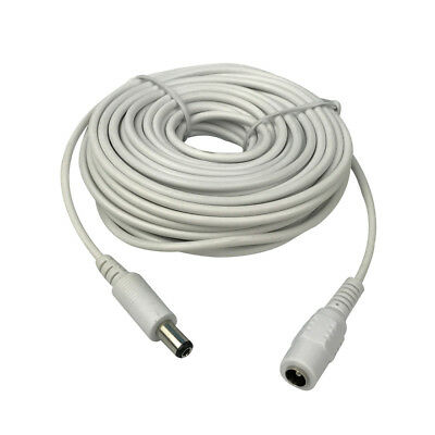 3-15M 2.1x5.5mm DC 12v Power Extension Cable for Audio Security IP Camera DVR