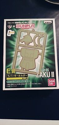 Bandai Ichiban Kuji Collaboration Gundam Rubber Key Chain ZAKU BANPRESTO GUNPLA