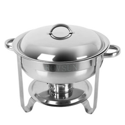 1 Pack Catering Stainless Steel Chafer Chafing Dish Sets 5 Qt Party Pack