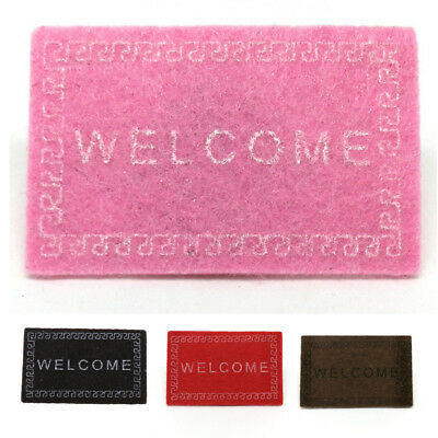 Doll House Miniature Carpet Welcome Mat Dollhouse Accessories Home & Living