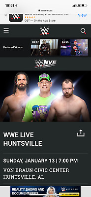 WWE Live Von Braun Center