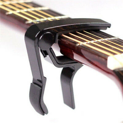 New Change Key Capo Clamp for Electric Acoustic Guitar Quick Trigger Release