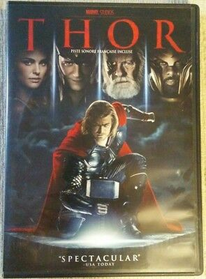 Thor Marvel's (DVD, 2011, Canadian)