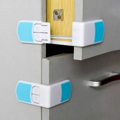 Healthy Security Buckle Baby Safety Cabinet Door Safe Lock Infant Products