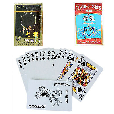 Camping Outdoor Bicycle Rider Back Deck Playing Cards Poker Classic MagicGame