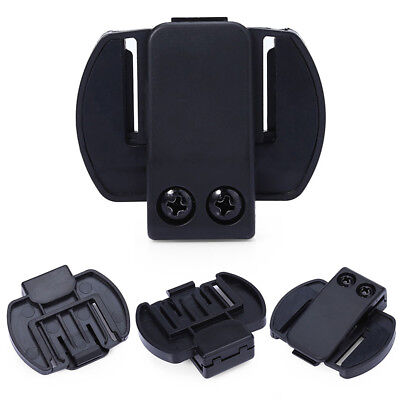 Bluetooth Motorcycle Motorbike Helmet Intercom Headset Bracket V6 Clip Holder