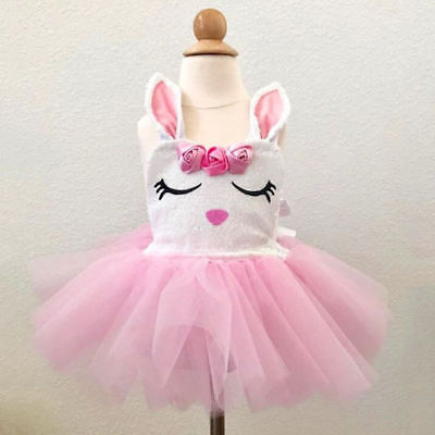 AU Baby Girl Romper Bow Tutu Skirt Sleeveless Sunsuit Clothes Party Formal Dress