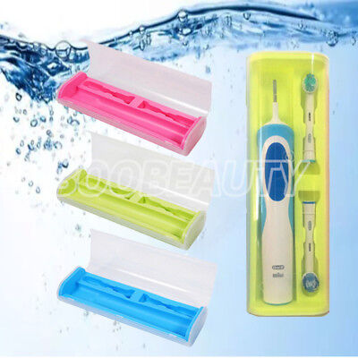 UK Toothbrush Holder For Oral-B Electric Brush Cover Case Traveling Portable Box