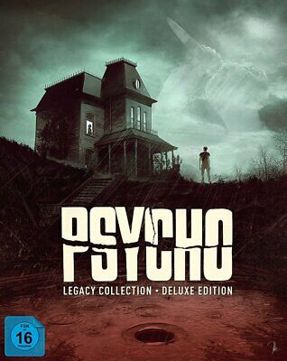 Psycho Legacy Collection - Deluxe Edition # 8-BLU-RAY+3-DVD-NEU