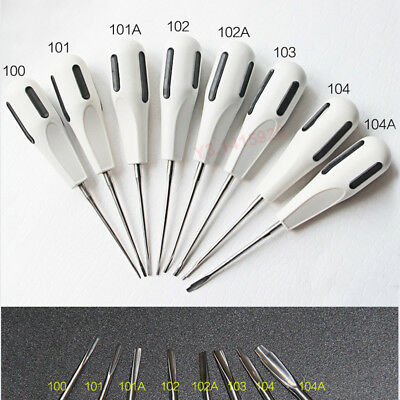 8Pcs/Set Dental Extraction Root Minimally Invasive Tooth Extracting Forceps +Box