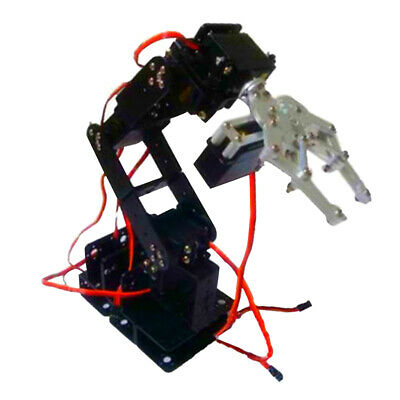 6DOF Mechanical Robot Arm Clamp Claw Kit Manipulator for Robotics