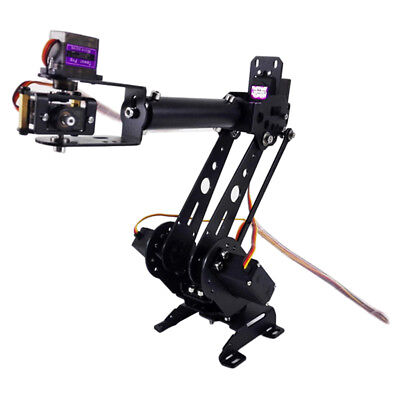 S6 6DOF Mechanical Robot Arm Clamp Claw Kit Manipulator for Robotics