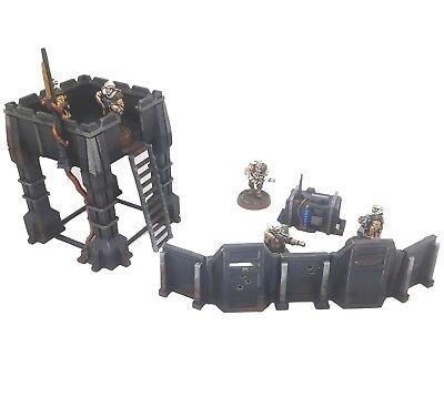 Avant-Poste Outpost décor scenery building Warhammer 40k 40 000 Infinity Warlord