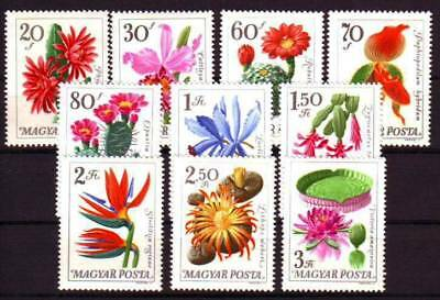 HUNGARY - 1965. Succulents and Orchids - MNH