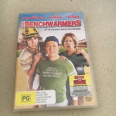 The Benchwarmers Dvd.