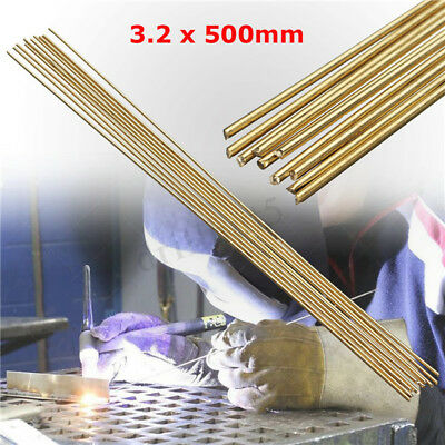 10PCS 1.6x250mm Brass Rods Wires Sticks For Repair Welding Brazing