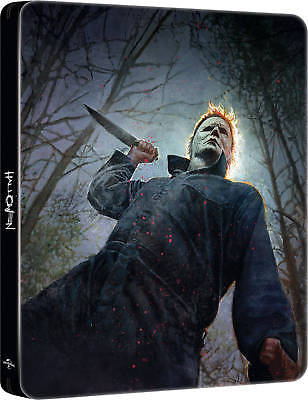 Halloween 4K UHD Steelbook + 2D Blu Ray (2018) / Pre-Order / WORLDWIDE SHIPPING
