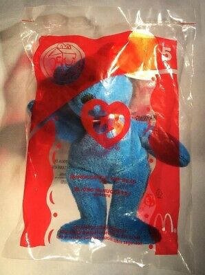 2629c28baef McDonald s Happy Meal Toys Mcnuggets the Bear 2004 ty beanie baby New in  Package
