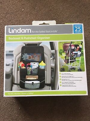 Lindam Backseat & Pushchair Organiser