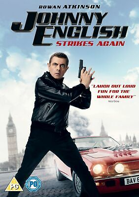 Johnny English Strikes Again (with Digital Download) [DVD]