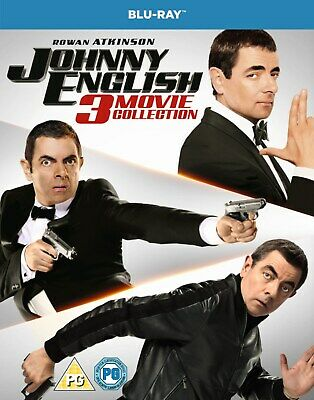 Johnny English: 3-movie Collection (Box Set with Digital Download) [Blu-ray]