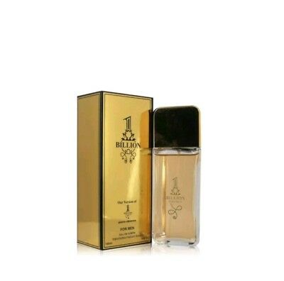 1 BILLION Cologne by Secret Plus VERSION OF MILLION 3.4 OZ EDT SPRAY NEW IN BOX