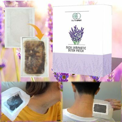 Hot Nutrispot™ Neck Lymphatic Detox Patch (Set of 10) Amazing New Free Shipping