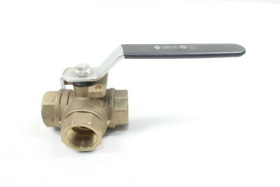 Rb Valve 3-way Manual Bronze 1in Npt Ball Valve