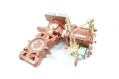 M&h Valve Pneumatic Wafer 4in Butterfly Valve