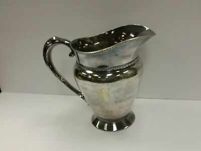Hartford Sterling Co. Lion Crown Unicorn Trademark D 3111 Pitcher 1900-1931
