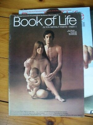 Book Of Life encyclopedia magazine Parts 1 to 17 (Marshall Cavendish 1969) VGC