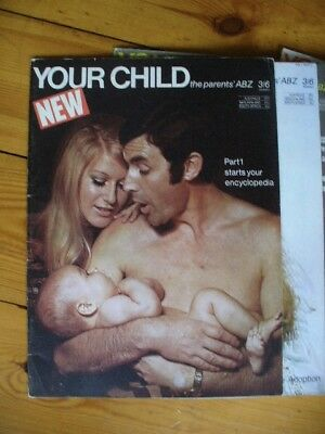 Your Child encyclopedia magazine Parts 1 to 15 (IPC Magazines 1970) VGC