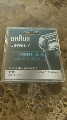 Series 7 Braun 70S Replacement Head, Silver, Pulsonic