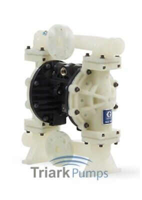 "1"" Graco Husky 1050 / AA25/VA25 Air Diaphragm Pumps AODD (Poly/Sant) - 649021"