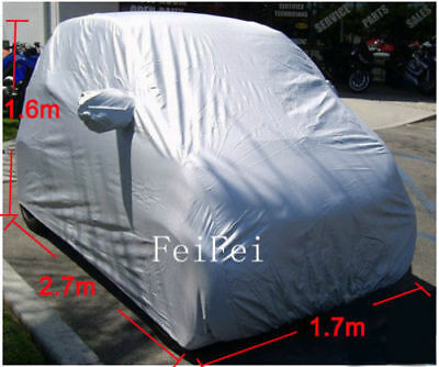 Waterproof UV Resistant Breathable Car Full Cover Protector For Smart 2 Layer UK