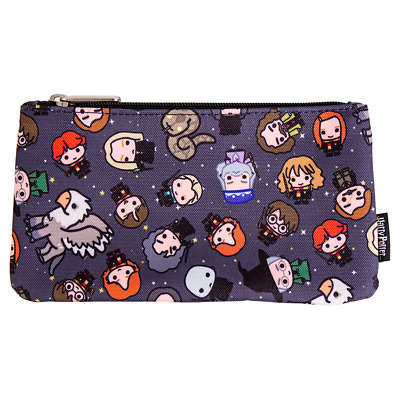 Harry Potter - Chibi Characters Loungefly Pencil Case - Loot - BRAND NEW